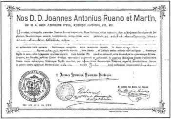 Documento autenticación